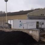 Sludge de-watering mobile centrifuge unit