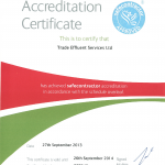 Safe Contractor Certificate 27.09.13 - 26.09.14